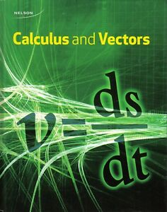 Calculus and Vectors Textbook