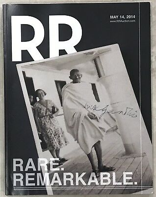 RR AUCTION AUCTION CATALOG PRESIDENTS, BEATLES ENTERTAINMENT ART GHANDI CVR