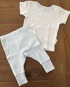 NEW 2016 Baby Set Organic Cotton PUREBABY Top Pants $74.95 Aspendale Gardens Kingston Area Preview