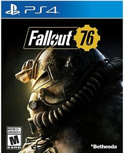 New Fallout 76 PS4