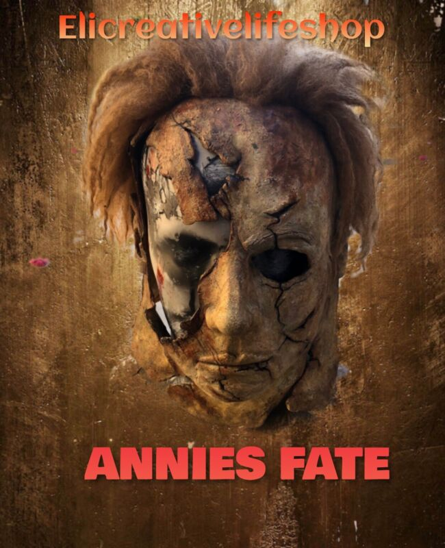 Michael Myers Mask Rob Zombies H2 (Annie's Fate) ECLS