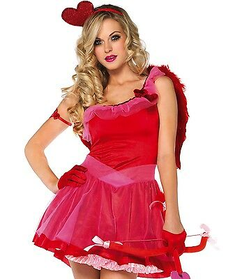 Kiss Me Cupid Adult Sexy Halloween Costume Leg Avenue 83793 Size XS NWT](Cupid Halloween Costume)