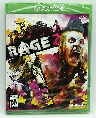 Rage 2 Xbox One Factory Sealed NTSC US Version Disc