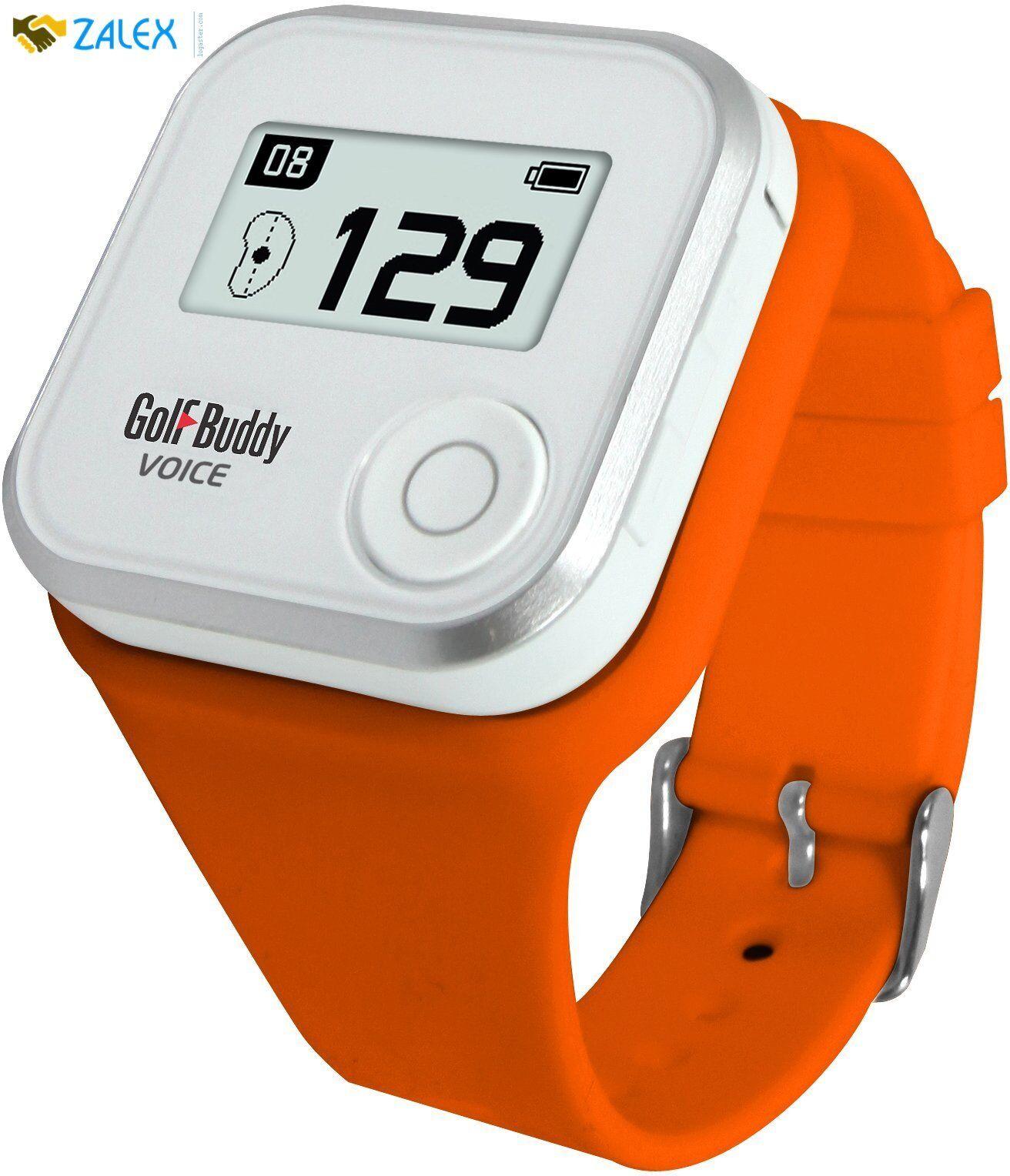 Golf Buddy Voice Wristband Orange