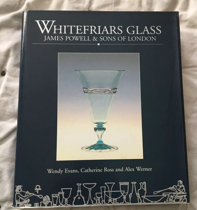 WHITEFRIARS GLASS MUESUM OF LONDON BOOK