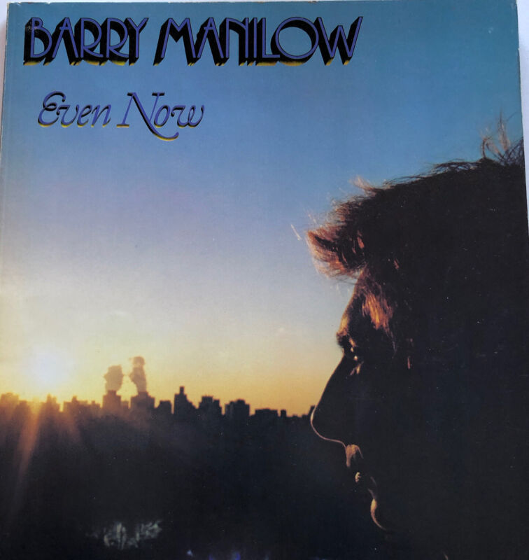 1978 Barry Manilow Songbook Sheet Music Rare
