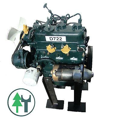 Dieselmotor Motor Kubota D722 20,9PS 719ccm BHKW gebraucht Diesel - Kubota Diesel Motor