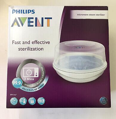 Philips AVENT Microwave Steam Baby Bottle Sterilizer