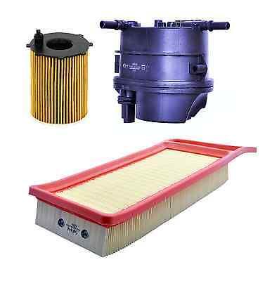 Service kit Air Oil Fuel Filter FORD FIESTA 1.4 MK6 TDCi DIESEL 11/01 09