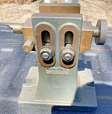 Yuasa 553-311 Adjustable Height Tailstock For 12 14 Hv Rotary Table Milling