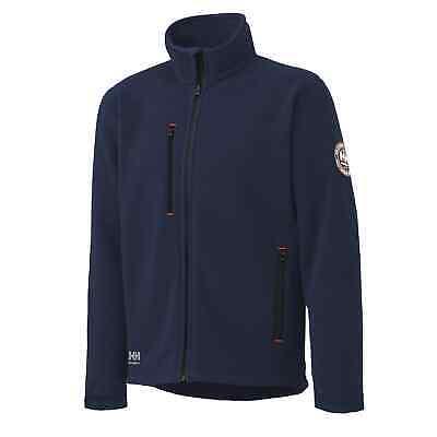Helly Hansen Mens Langley Fleece Full Zip Jacket 72112 Navy Blue Size 2XL NWT