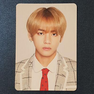 V - Official Photocard BTS Happy Ever After 4th Muster Mini Photocard