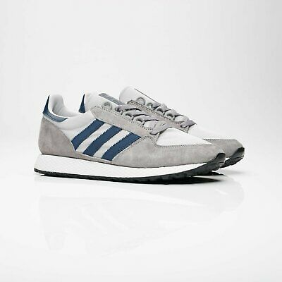 Adidas Forest Grove Grey and Blue