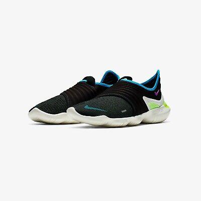 Nike Free RN Flyknit 3.0 Men's Running Shoe-AQ5707-003 Size UK 11