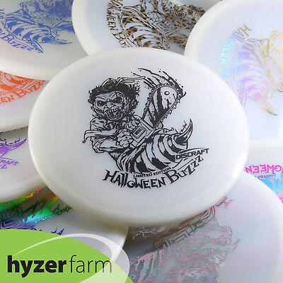 Discraft 2018 HALLOWEEN LEATHERFACE Z GLOW BUZZZ *pick weight/stamp* Hyzer Farm - Z Halloween