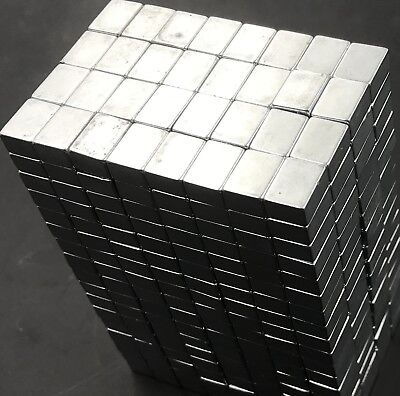 25 50 100 123814 Neodymium Block Magnets N50 Super Strong Rare Earth