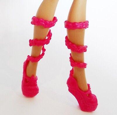 Mattel Monster High / Lagoona Blue / Puppen Schuhe Ballerinas Pumps (Lagoona Blue Schuhe)