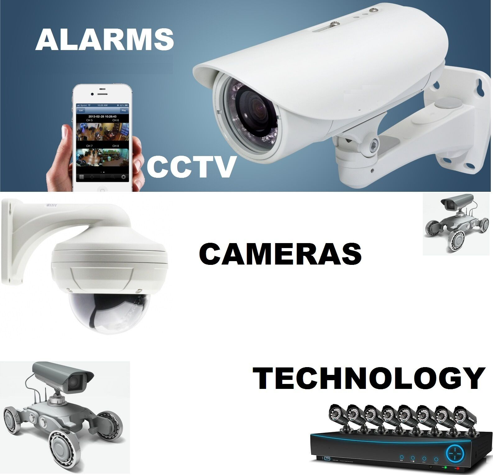 Alarms CCTV Cameras Technology