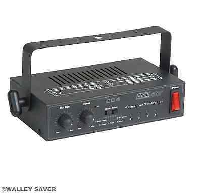 Ec-4 Eliminator Dj Light Chaser Unit Sound Active Chase - Free Shipping