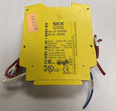 Sick 6024920 Safety Relay Ue 10-4xt3d2