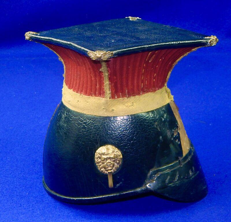 Antique British English WW1 or Earlier 5th Irish Lancers Helmet Hat