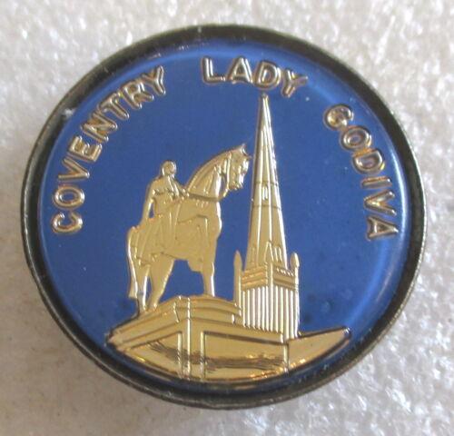 Vintage Coventry - Lady Godiva Statue, England Tourist Souvenir Collector Pin