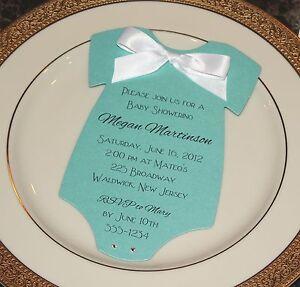 Tiffany Inspired Baby Shower Invitations was nice invitation design