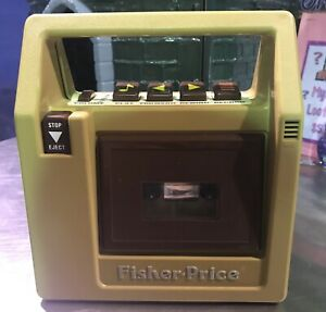 1980 Fisher Price Cassette Player
