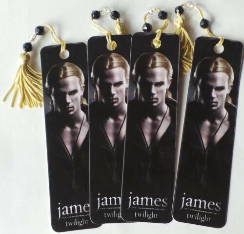 (Four) Twilight the Movie Bookmark small - James