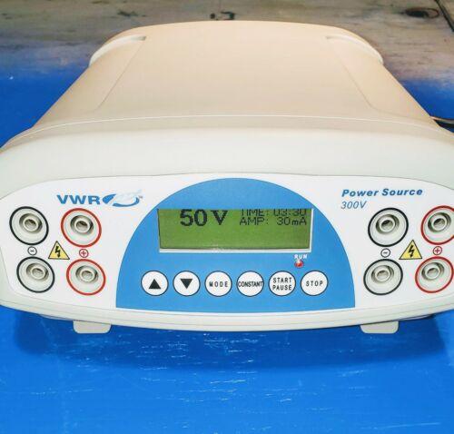 VWR International 300V Electrophoresis Power Source Supply, US supplier