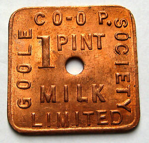 Goole co-op society milk token