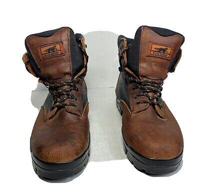 Irish Setter Mens 12 M Hunting Shoes Brown/Black Gore-tex Vibram Soles GUC