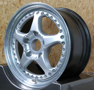 1x OZ Fittipaldi 2tlg Geschraubt INDY 500 Alufelge 8,5x17et56 5x130 06857P05 TOP
