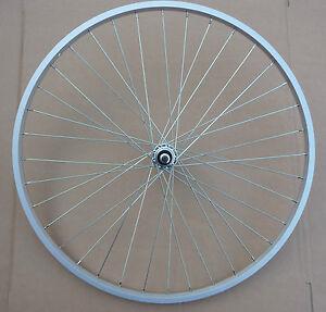 Hybrid 700c Bicycle Front / Rear Wheel Wheelset NEW Bike Cycle Freewheel Hub
