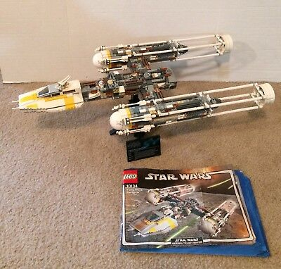 Lego 10134 Star Wars Y Wing Attack Starfighter Htf Free Shipping