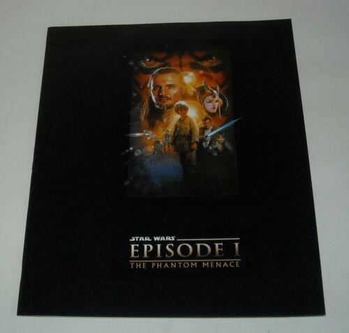 1999 STAR WARS EPISODE I The PHANTOM MENMACE PROMO MOVIE PRESSBOOK PRESS BOOK