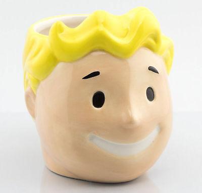 Fallout - Vault Boy 3D - Mug Keramik Tasse Becher Ø10,5 H8,5 cm Mug Fall