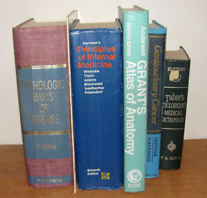 Basic but comprehensive medical library - 6 volumes