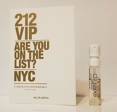 212 VIP by Carolina Herrera EDP Womens Perfume Sample