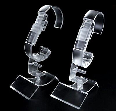 20 Profi Uhrenständer Uhrenhalter 360° Drehbar Uhrenaufsteller Vitrine NEUWARE