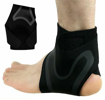 Ankle Support Brace Compression Tendon Strap Elastic Bandage Sport Foot Wrap US Health & Beauty