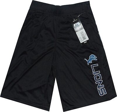 Detroit Lions Vertical Grid Big Boys Youth Shorts Outerstuff 8-20 Clearance! $35 Detroit Lions Youth Short