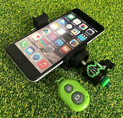 FiSH i Phone Holder For Fishing With Cold Shoe Mount & Bluetooth Remote.Carp.