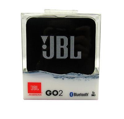 JBL GO 2 Portable Wireless Waterproof  Noise-Cancelling Speaker,  Black *GO2BLK
