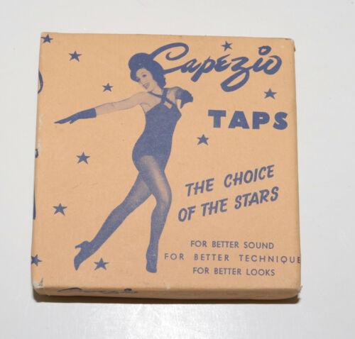 Capezio vintage duo tone taps in box NO SHOES
