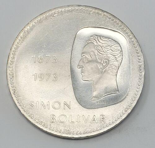 1973 Venezuela 10 Bolivares Gram 30 Silver Coins