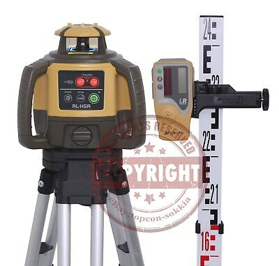 Topcon Rl-h5a Self-leveling Rotary Grade Laser Level Package Slope Metric