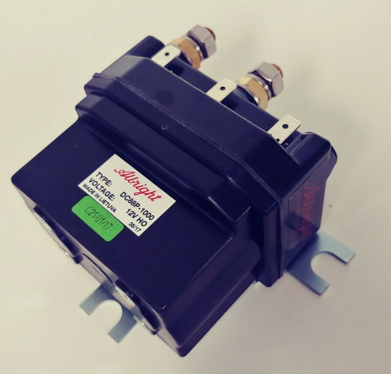 Albright DC88P-1000 500 Amp 12V Winch Contactor Relay Solenoid Fits Warn