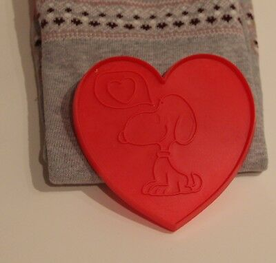 Snoopy Valentines Day (Vintage Peanuts Charlie Brown Snoopy large heart cookie cutters Valentine's)