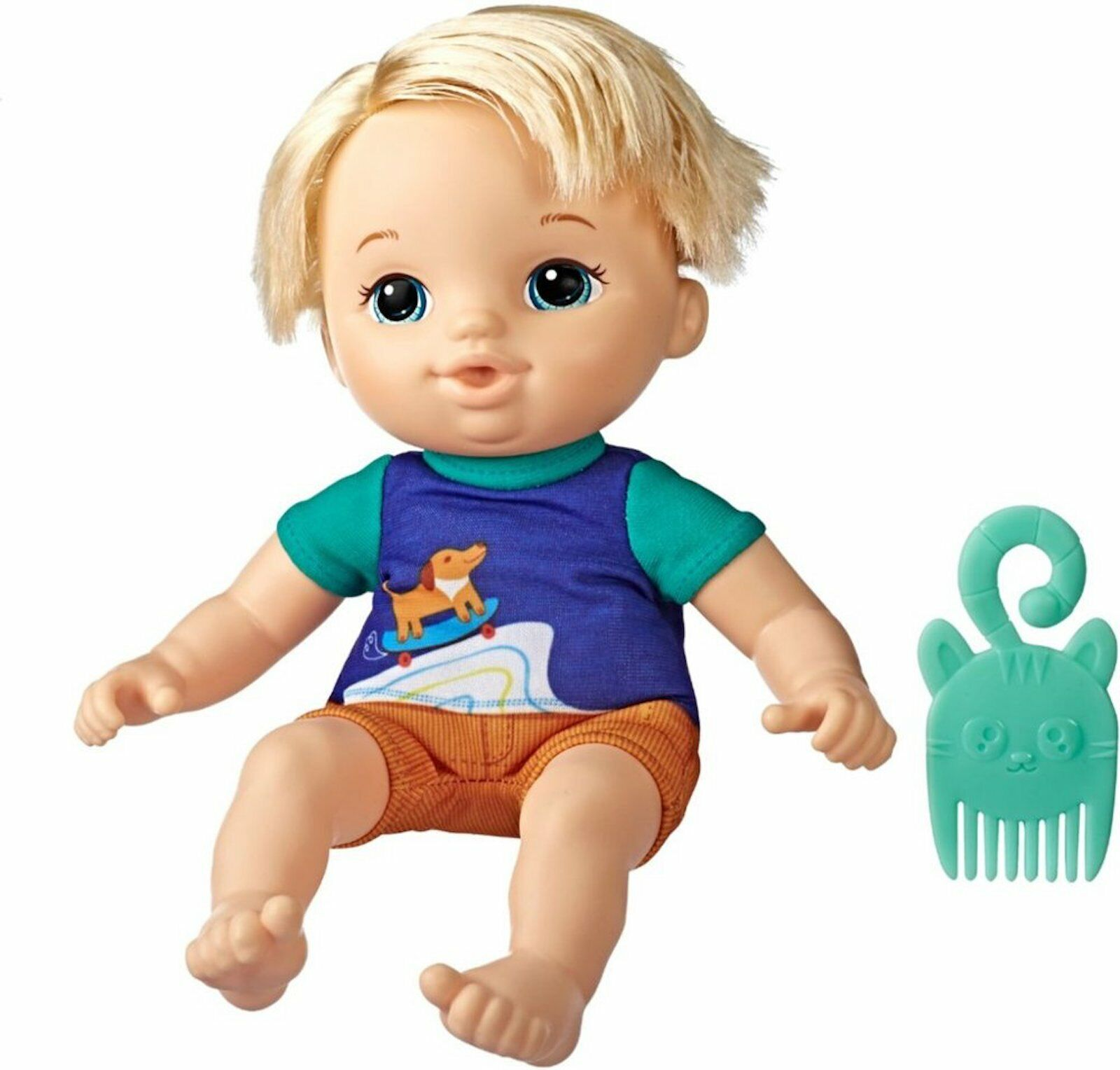 """Hasbro Littles by Baby Alive /""""Zack/"""" 9-Inch Toddler Doll E8407 SQUEEZABLE BELLY!!"""